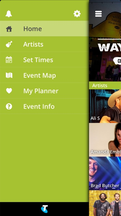 Screenshot of Winton's Way Out West App