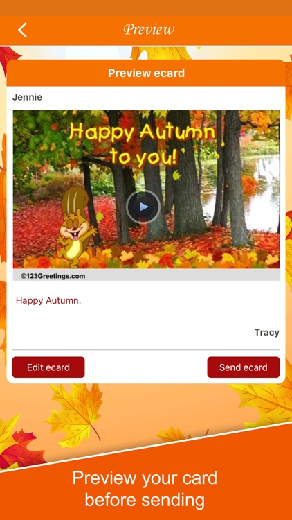 Autumn Cards screenshot-4