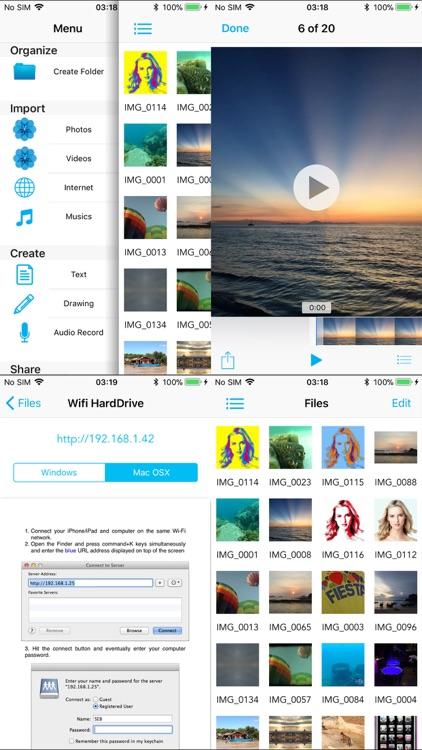 AirDrive - Wireless Hard Drive screenshot-4