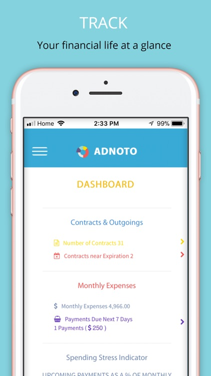 adnoto expense manager by kevin lowther