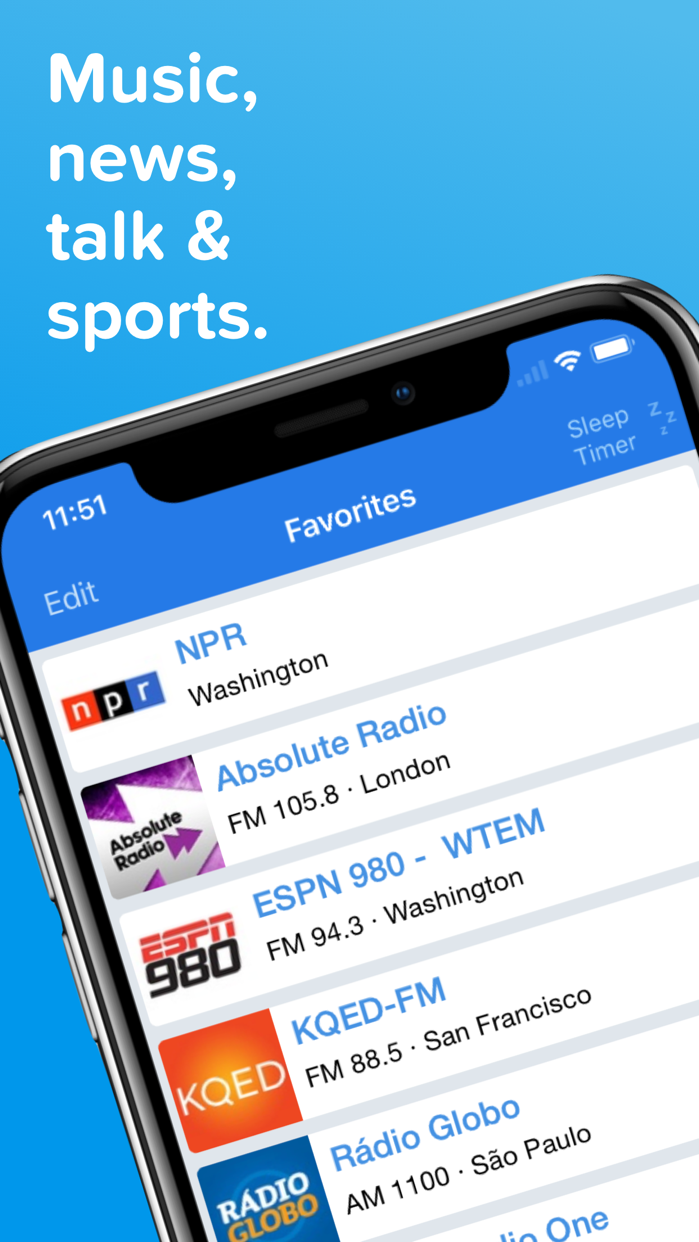 Simple Radio - Live AM & FM Screenshot