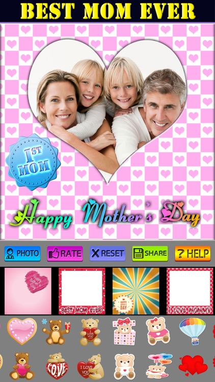 Mother's Day Frame and Sticker screenshot-4