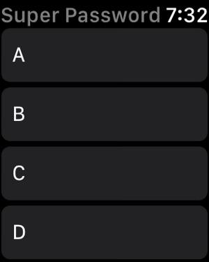 Super Passwords Screenshot