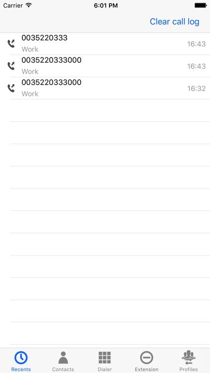Pindo dialer screenshot-3