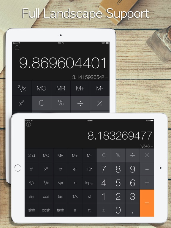 Screenshot #2 for Calculator iRocks