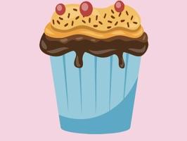 Cupcake Stickers - Yum!