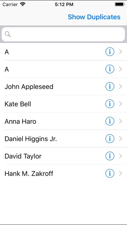 CleanUp Duplicate Contacts