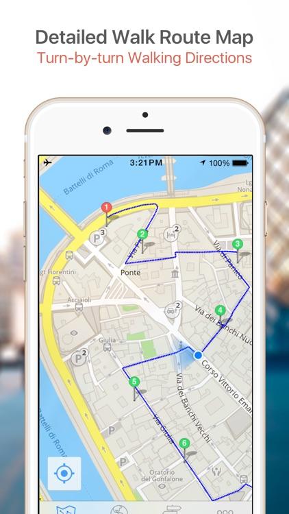 Tel Aviv Map & Walks (F) screenshot-3