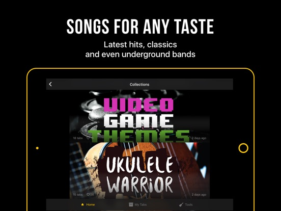 Ultimate Guitar: Tabs & Chords IPA Cracked for iOS Free Download