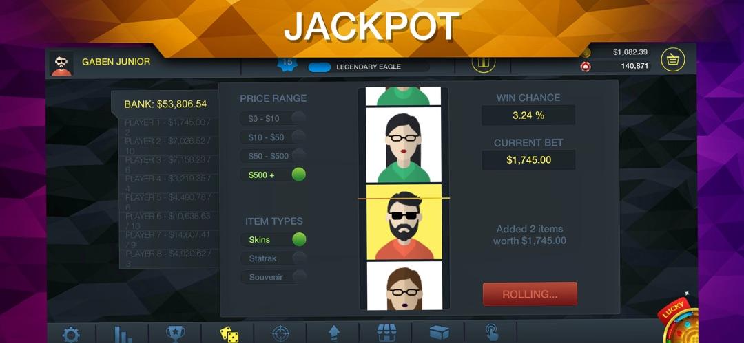 Csgo betting sim roger jackson jko mining bitcoins