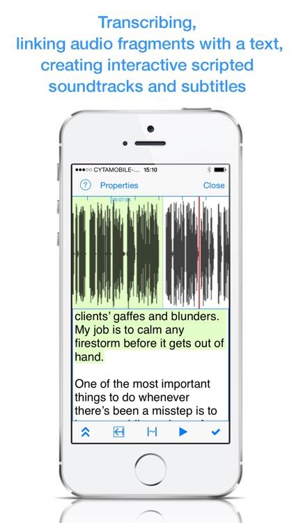 Audio vs Text