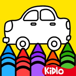 Kidlo Coloring Book For Kids on the App Store