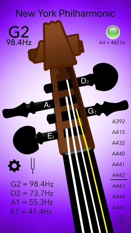 Double Bass Tuner Professional screenshot-4