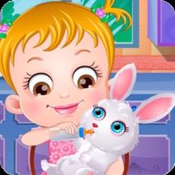Baby Hazel : Rabbit Sitter