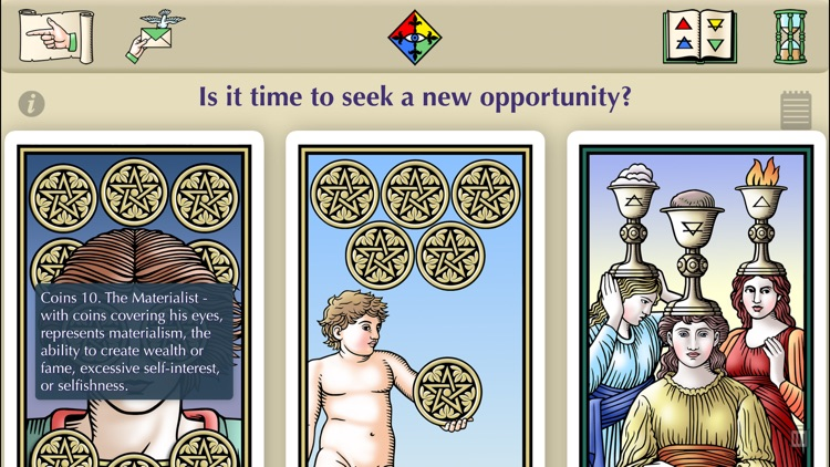Tarot of the Sevenfold Mystery screenshot-3