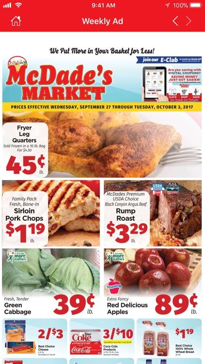 McDade's Market screenshot-3