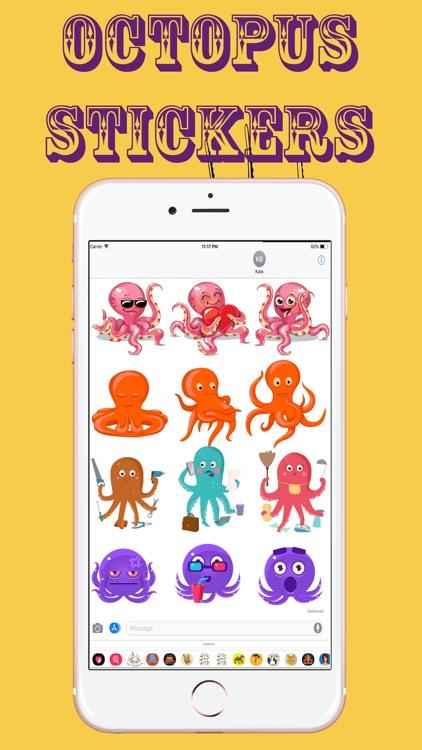 Amazing Octopus Stickers
