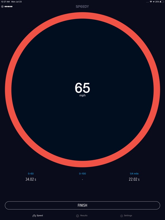 Speedy - Speedometer Screenshots