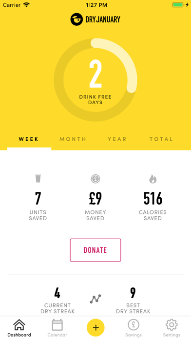 TRY DRY: The Dry January app