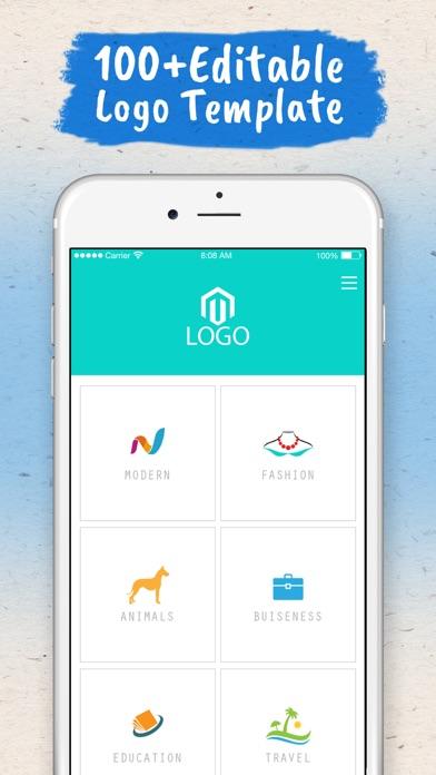 Screenshot #6 for Logo Maker - Logo Creator .