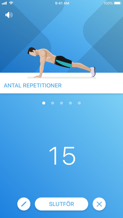Screenshot for Just 6 Weeks PRO in Sweden App Store
