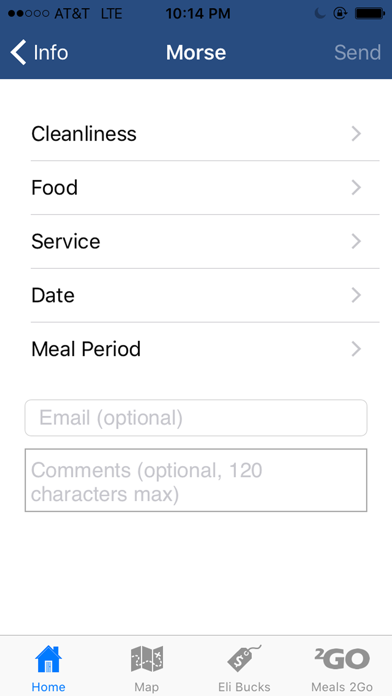 Yale Dining screenshot four