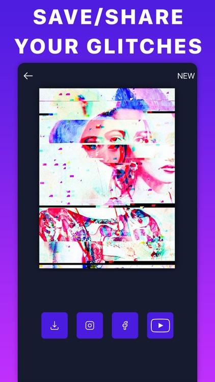 Glitch Aesthetic Video Filters screenshot-4