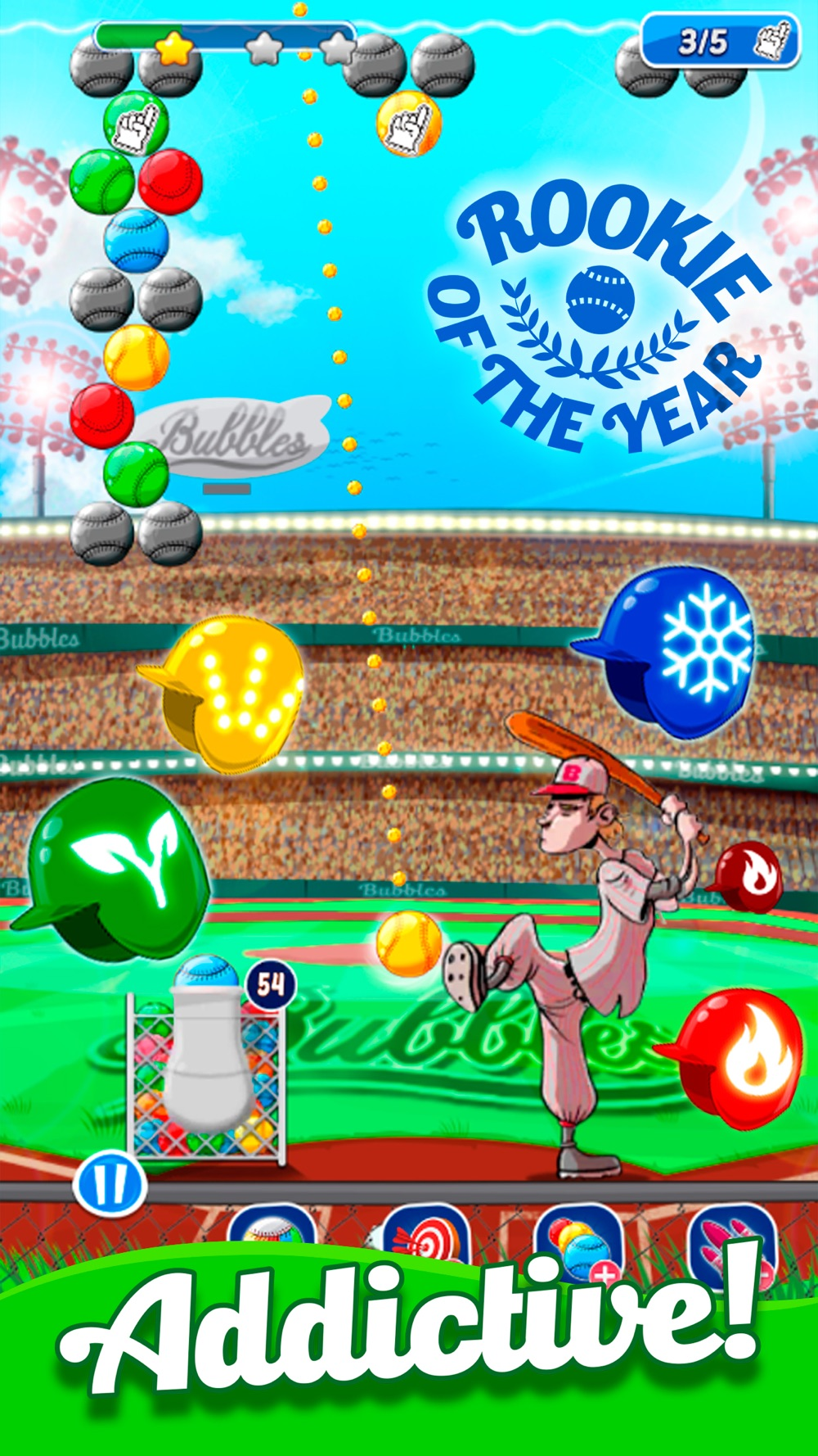 Baseball Bubble Shooter hack tool