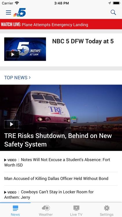 NBC 5 Dallas-Fort Worth screenshot-0