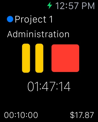 TimeTrack Pro - Time tracker Screenshot