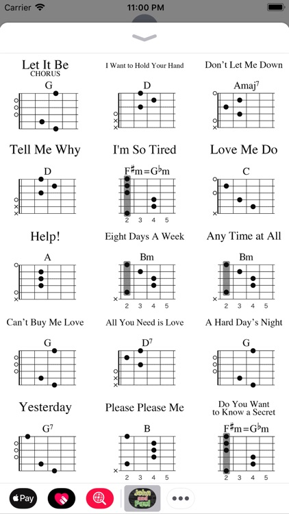 John and Paul Guitar Chords by insideout ltd.