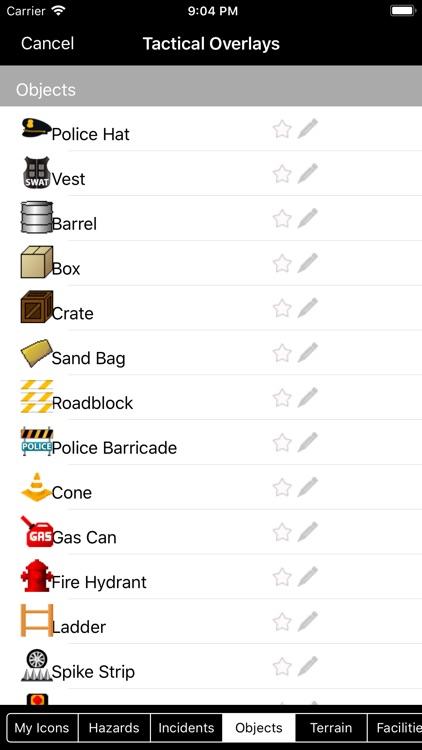 Tactical Police Table screenshot-3