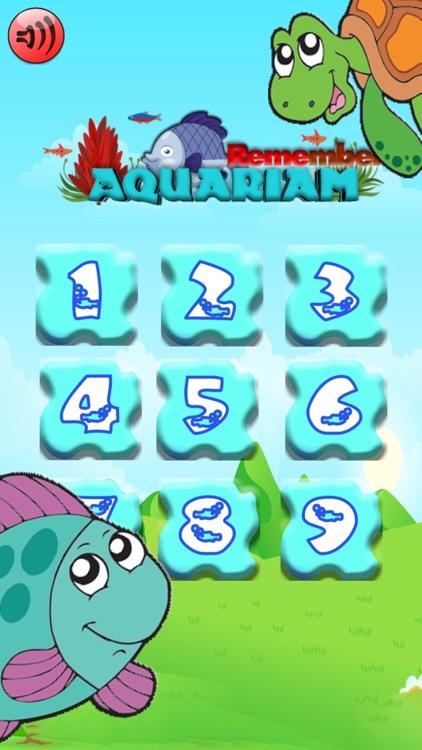 Aqua Match Memory Card Game