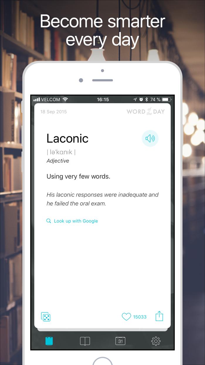 Word of the day: Learn English Screenshot