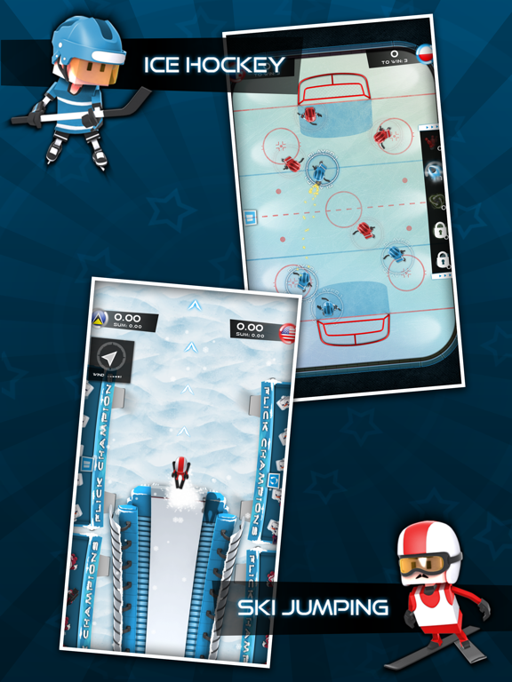 Screenshot #5 pour Flick Champions Winter Sports