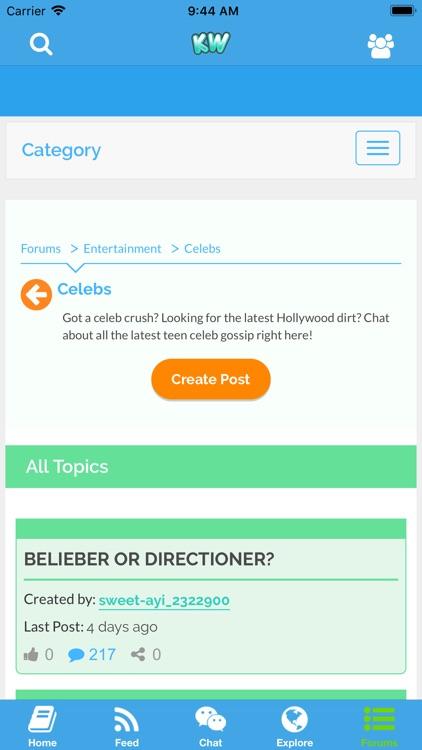 Kidzworld: Chat Room & Forums screenshot-8