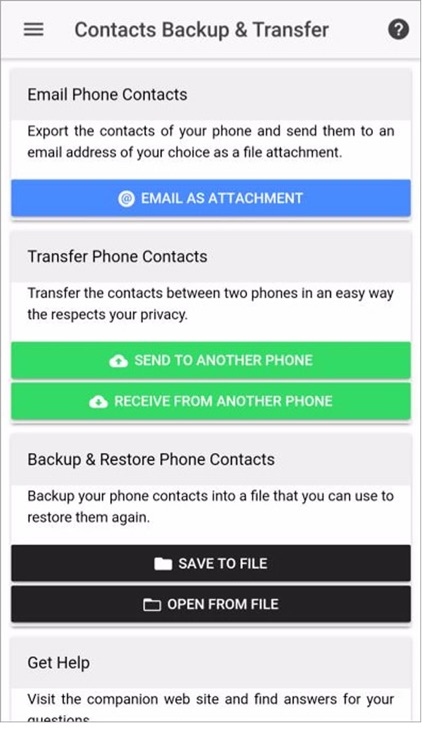123 Contacts Backup & Transfer by Alterora OÜ