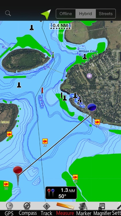 Lake Tohopekaliga GPS Charts screenshot-3