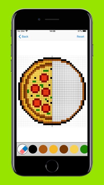 Pixel Art Puzzles Coloring screenshot-6