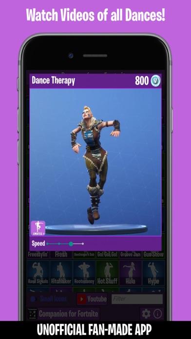 Dances from Fortnite