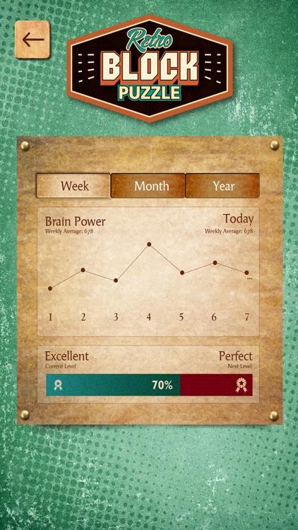 Retro Block Puzzle Game screenshot-3