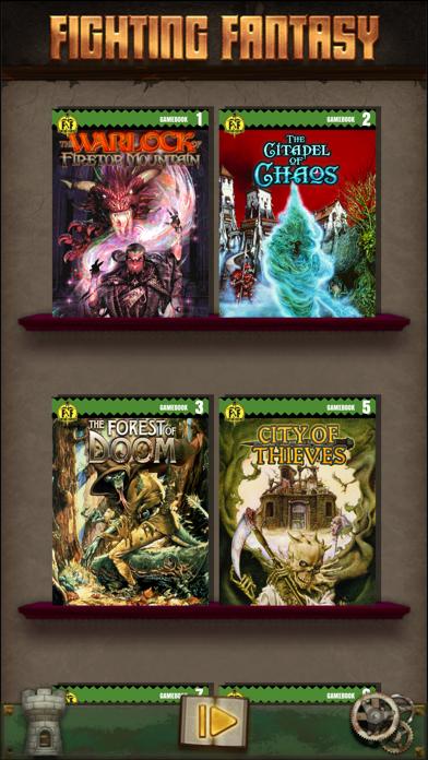 Fighting Fantasy Classics screenshot 1