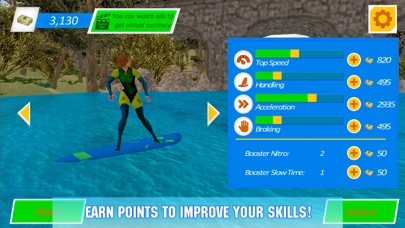 Water Surfing Board: Rider Sim screenshot four