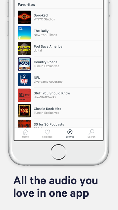 download TuneIn Radio: NFL, Music, News apps 3