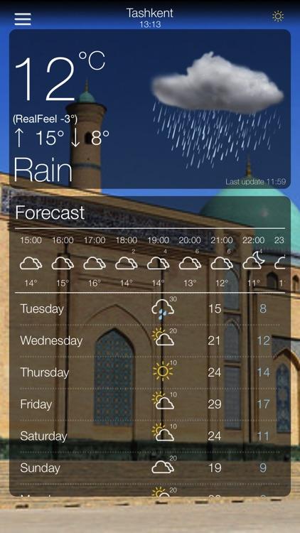 Weather App 10 Days Forecast screenshot-4