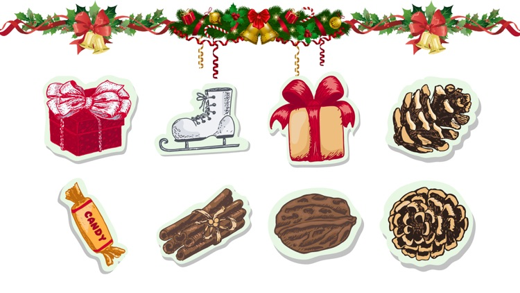 Christmas Joy Text Sticker Fun