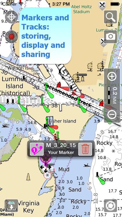 Aqua Map Maldives Nautical GPS screenshot-3
