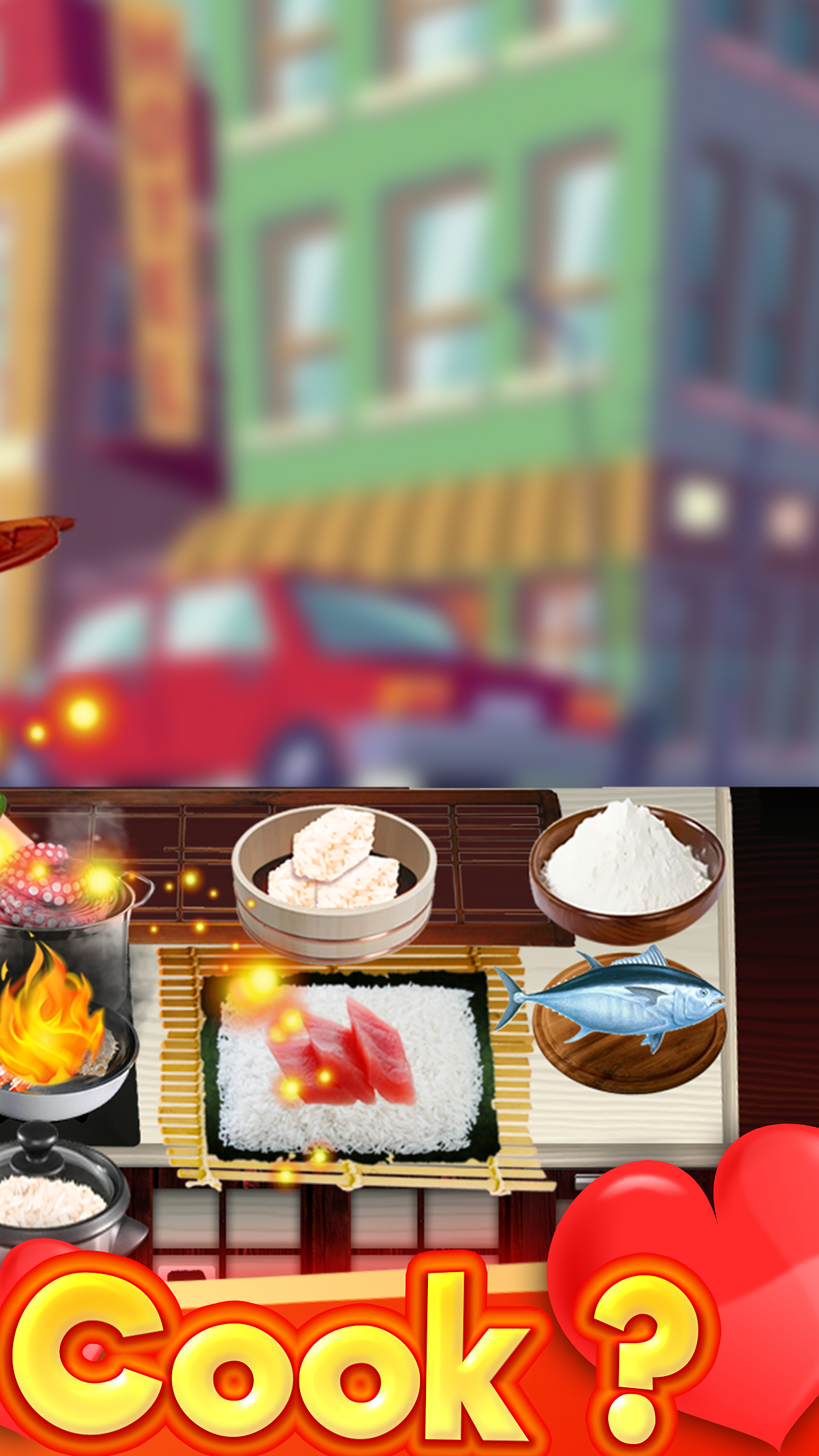 The Cooking Game- Mama Kitchen Screenshot