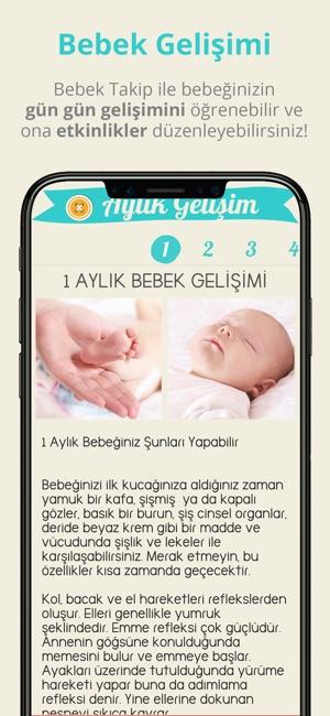 Bebeğim, iPhone ve iPad cihazlarınızda kullanabileceğiniz bir bebek takip uygulamasıdır.