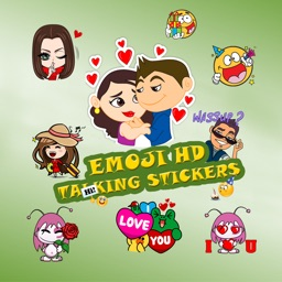 Emoji HD Talking Stickers